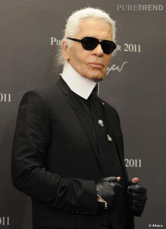 Karl Lagerfeld for Shu Uemura, une des collections que l'on va le plus attendre cet hiver.