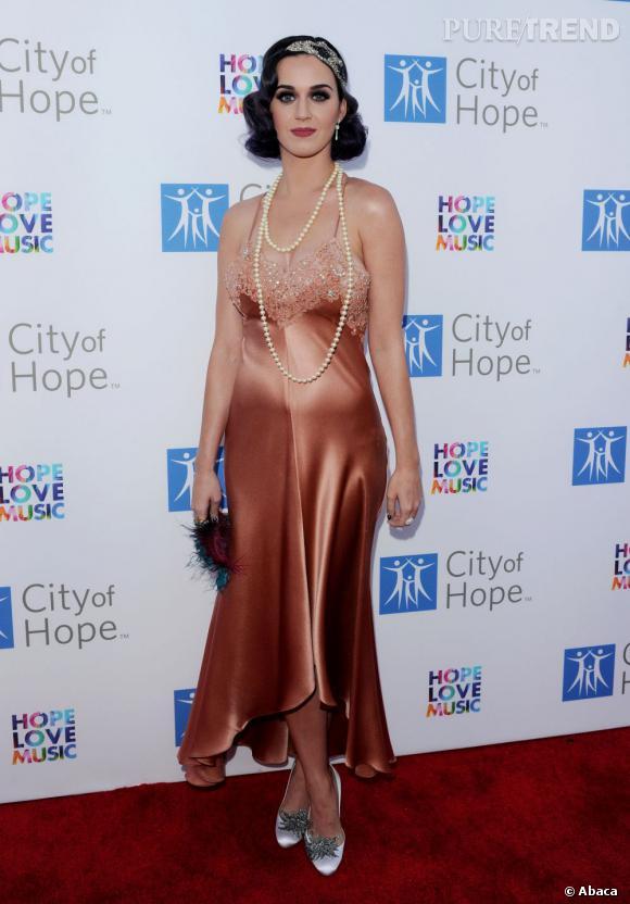 Katy Perry lors du gala City of Hope organisé à Los Angeles.