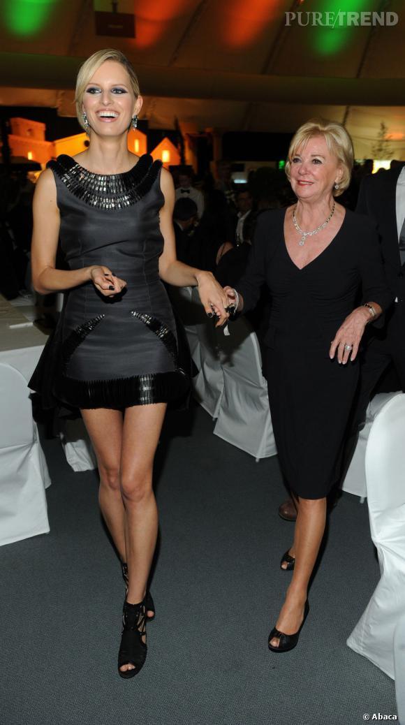 Karolina Kurkova lors de la soirée Gerry Weber Open Fashion Night en Allemagne.