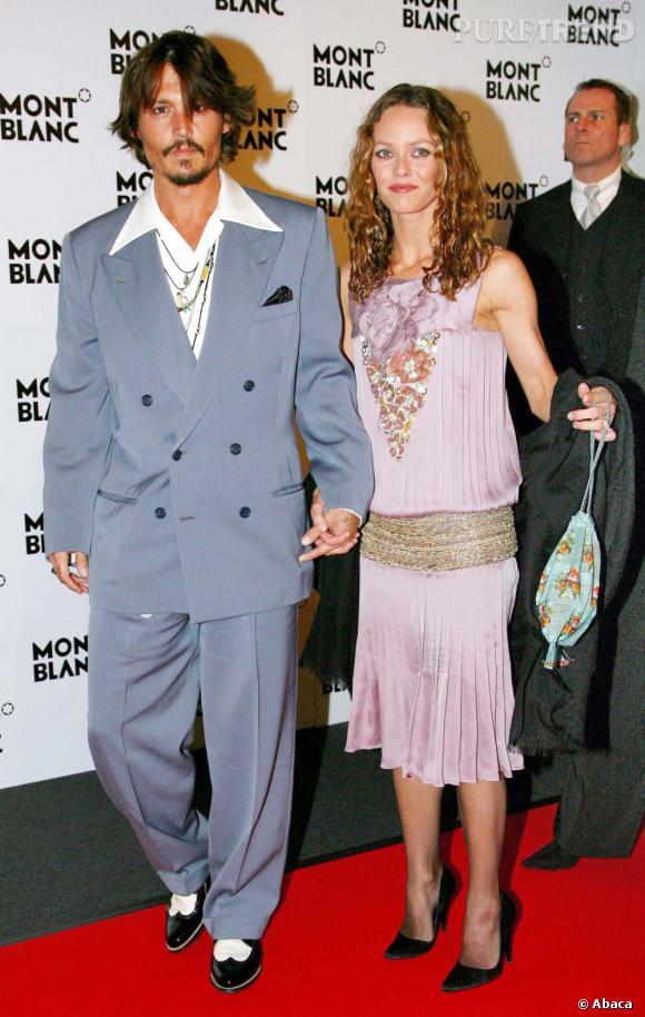 7 avril 2006  : Toujours très friands des années folles, le couple rayonne. Large col pour Monsieur, robe Charleston pour Madame !