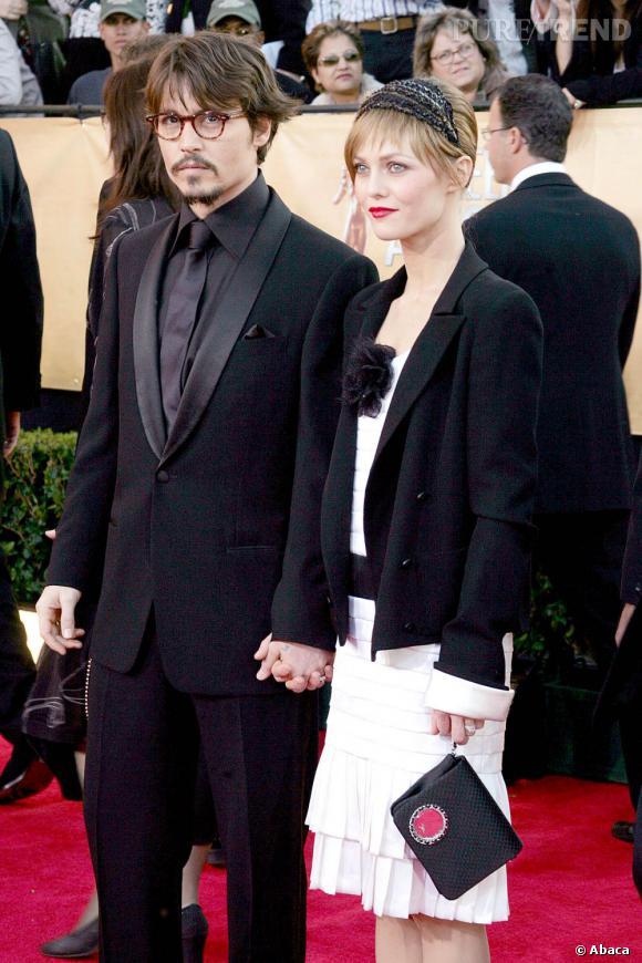 5 février 2005  : Toujours très chic, Johnny Depp et Vanessa Paradis sont accordés.