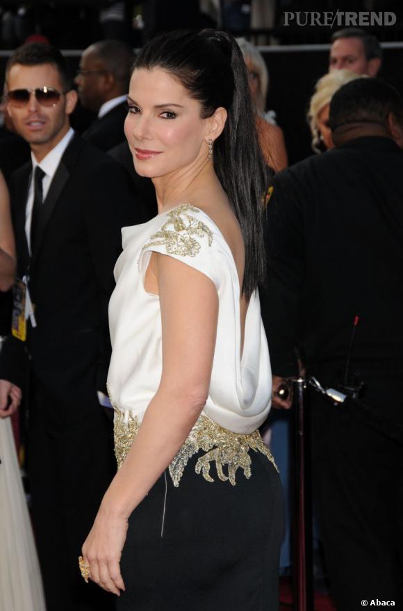"""N°3 : Sandra Bullock . Si côté carrière elle n'a pas tourné dans un carton ciné depuis """"The Blind Side"""" elle reste une des actrices les plus populaires d'Hollywood et empoche 25 millions."""