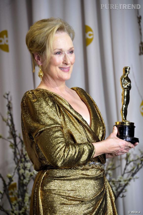 """N°8 : Meryl Streep. En plus d'un troisième oscars, """"The Iron Lady"""" prend la 8ème place du classement avec 12 millions de dollars."""