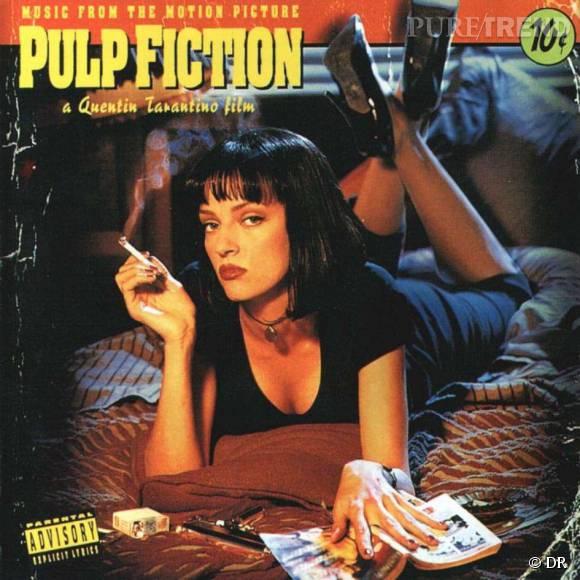 Uma Thurman est à l'affiche de Pulp Fiction avec son carré noir profond.