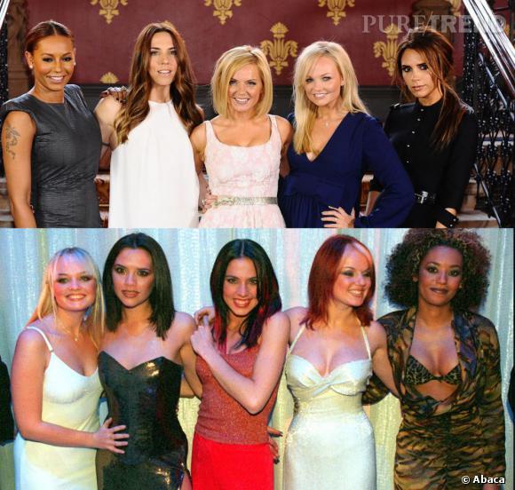 Entre 1997 et 2012, il y a clairement eu du changement... Alors, les Spice Girls, prêtes à rester chic ?