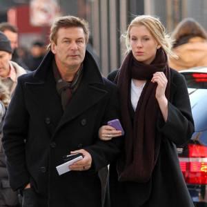 Tel père telle fille dans les rues de New York.