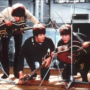 Les Beatles en répétition.
