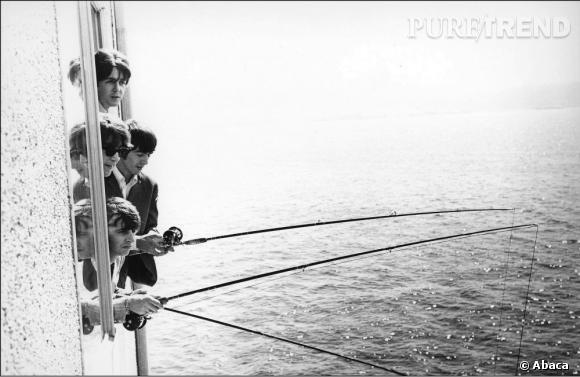 Les Beatles pêchent aussi, occasionnellement...