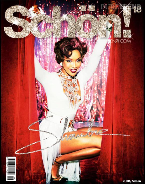 Naomi Campbell, diva un jour, diva toujours : la preuve avec cette nouvelle couv pour le magazine Schön.