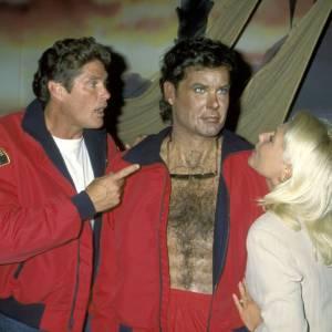 David Hasselhoff et sa statue de cire, tout simplement effrayant !