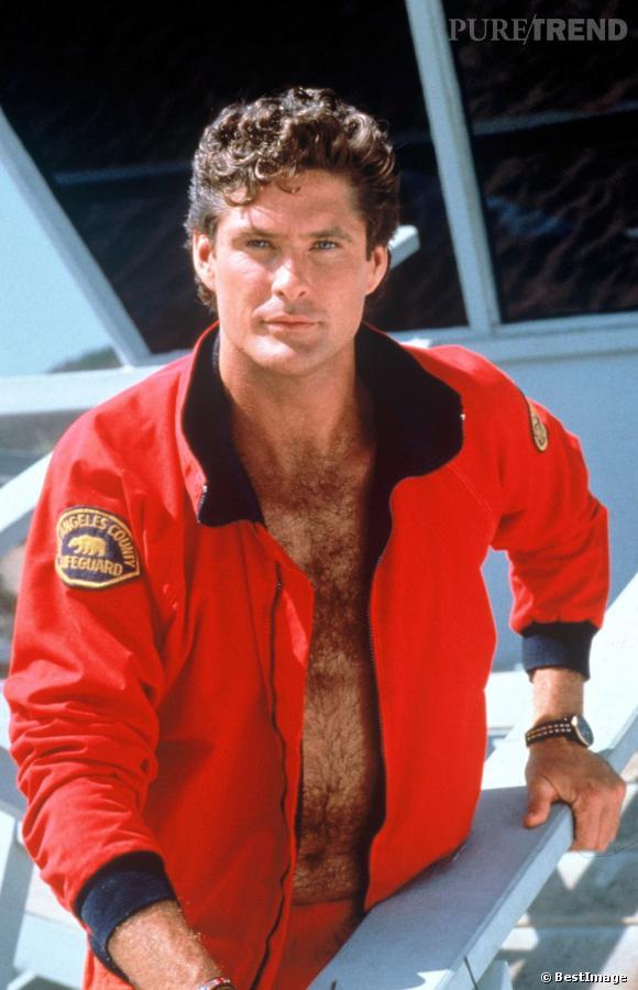 De 1989 à 2000, David Hasselhoff est Mitch Buchannon, tout un mythe.