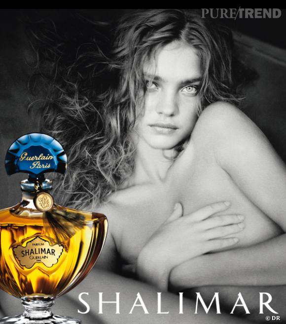 Natalia Vodianova se dénude pour Shalimar de Guerlain.