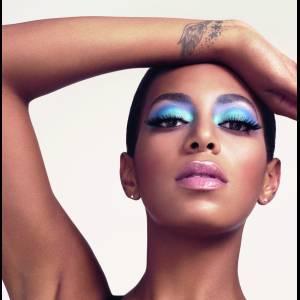 Solange Knowles est aussi l'égérie de Rimmel.