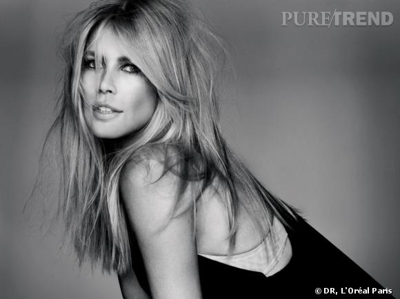 La dream team L'Oréal : Claudia Schiffer