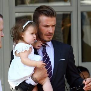 Le père et la fille aussi lookés l'un que l'autre.