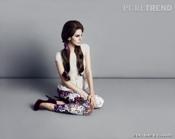 Lana Del Rey pour H&M.