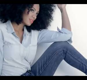 Solange Knowles pour Madewell.