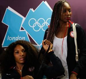 Les soeurs Williams bien décidées à remporter l'or aux JO de Londres.