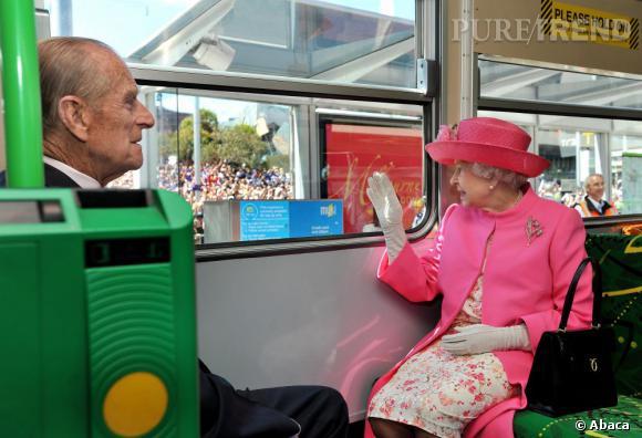 La reine Elizabeth II et son mari le duc d'Edimbourg sont presque comme tout le monde.