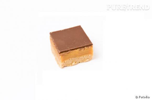 Une couche de sablé, une autre de toffee et du chocolat pour couvrir. Le biscuit du millionnaire, c'est LA gourmandise anglaise qu'on ramène dans sa valise.