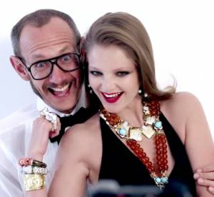 Terry Richardson et Enikő Mihalik se marrent bien pour David Webb