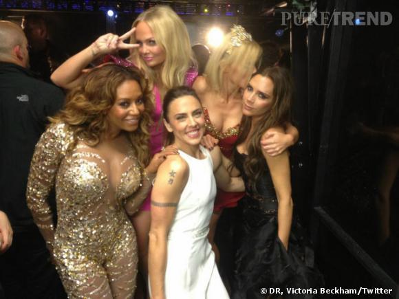 Les Spice Girls réunies au grand complet pour la cérémonie de clôture des J.O.
