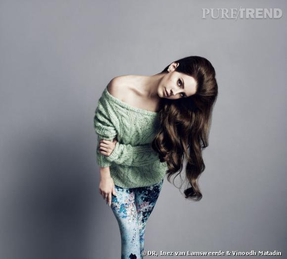 Lana Del Rey égérie H&M.
