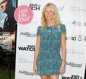 Gwyneth Paltrow : beauté naturelle pour la projection privée de End of Watch