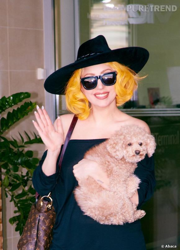 Lady Gaga version poussin.