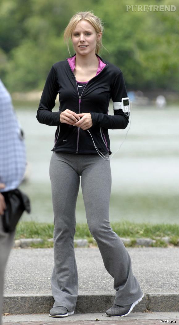 Le flop Kristen Bell :  Difficile d'être sexy en jogging, surtout quand il est bien moulant !