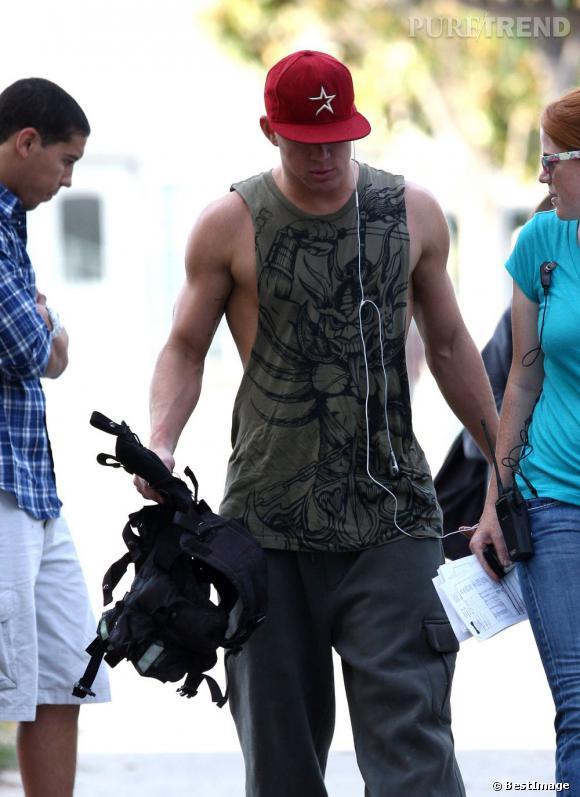 Le top Channing Tatum :  Ah ! Voilà enfin Channing comme on l'aime, muscles dehors !