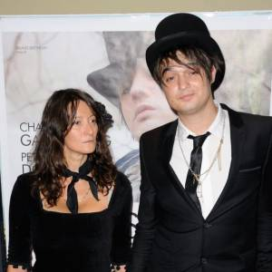 Peter Doherty et la réalisatrice Sylvie Verheyde.