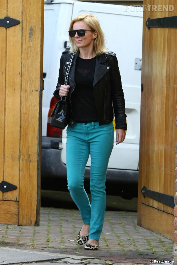 Geri Halliwell dans les rues de Londres le 30 août dernier.