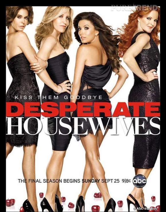 """La série qui va le plus nous manquer ? Sûrement """"Desperate Housewives"""" et les aventures de ces ménagères pas comme les autres..."""