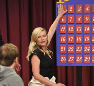 Kirsten Dunst, petite seance jeux de societe pour la Bachelorette