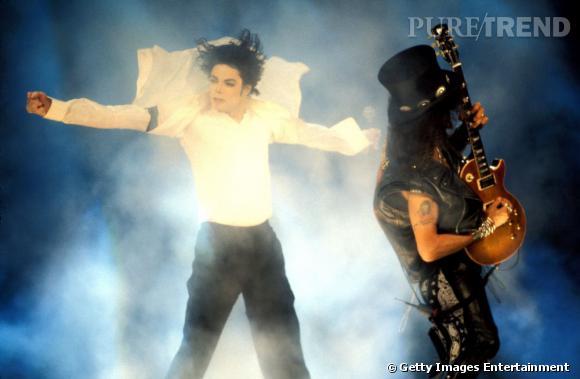 Légendaire la collaboration entre Michael Jackson et Slash en 1995.