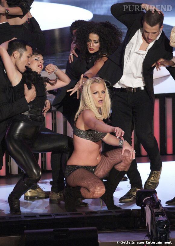 En 2007, Britney Spears tente un come-back. Un joli plantage dont on se souvient aujourd'hui encore.