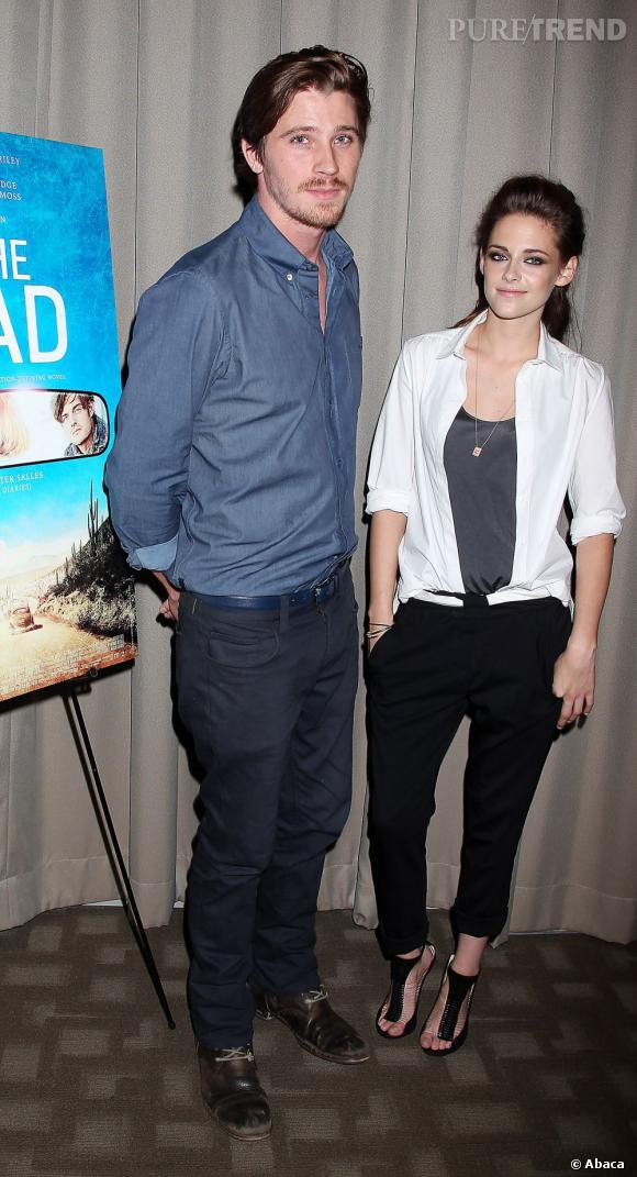 Est-ce Garrett Hedlund qui redonne le sourire à la jeune femme ?