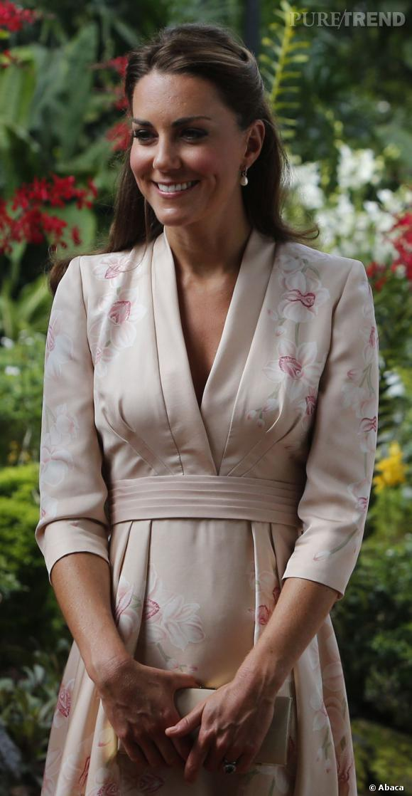 Kate Middleton à Singapour le 11 septembre dernier.