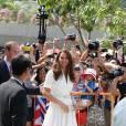 Kate Middleton va à la rencontre des Singapouriens le 12 septembre dernier.