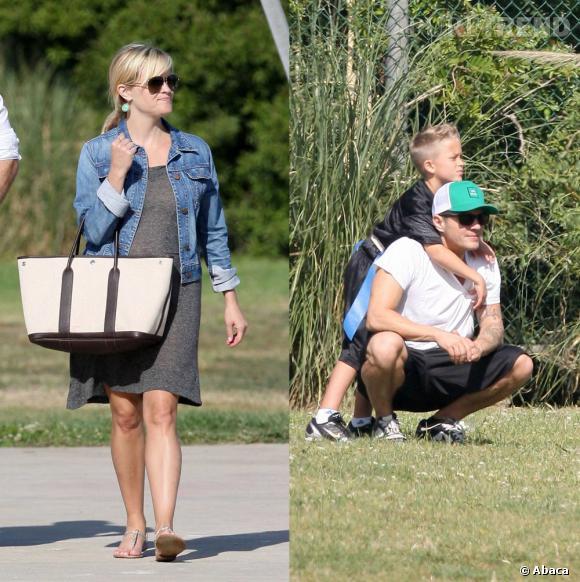 Reese Witherspoon a beau être séparé de Ryan Phillippe, ils se retrouvent tout de même pour encourager leurs enfants, Ava Elizabeth et Deacon Reese, lors de quelques événements...