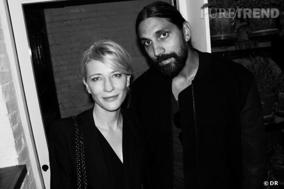 Cate Blanchett et Ben Gorham.