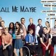La reprise par les acteurs de la série Glee.