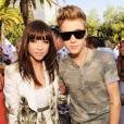 """Carly Rae Jepsen et Justin Bieber lors de la cérémonie des """"Teen Choice awards 2012""""."""