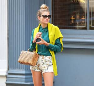 Jessica Hart, le preppy aux notes champêtres... A shopper !