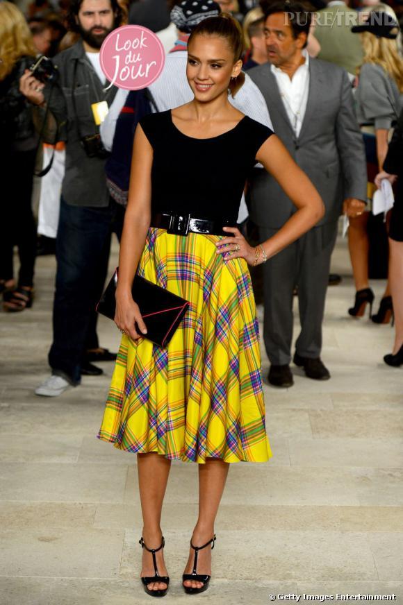 Jessica Alba, la plus audacieuse de la Fashion Week de New York !