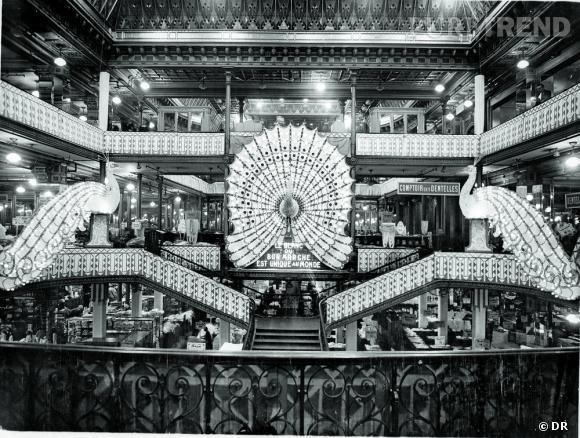 """Exposition """"160 ans d'Innovations, Aristide et Marguerite Boucicaut"""" au Bon Marché. Archives Le Bon Marche - Le Blanc 1929."""
