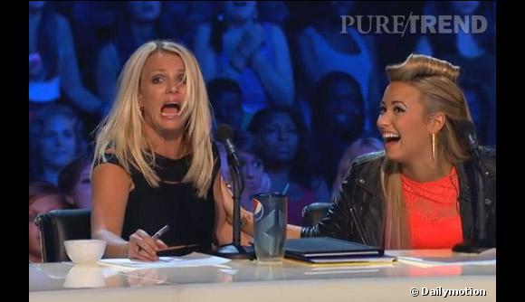 En entendant le coup de tonnerre, Britney Spears panique et hurle... Demi Lovato ne peut s'empêcher de rire !