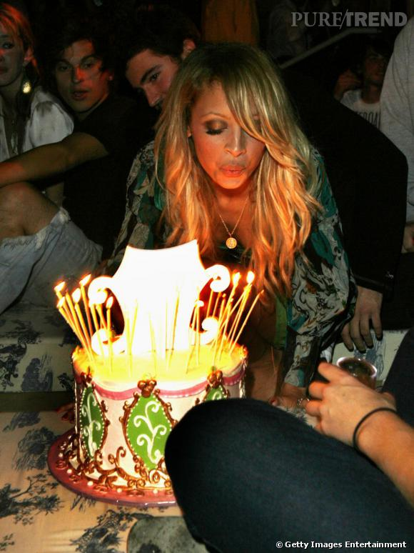 Nicole Richie fête aujourd'hui ses 31 ans.