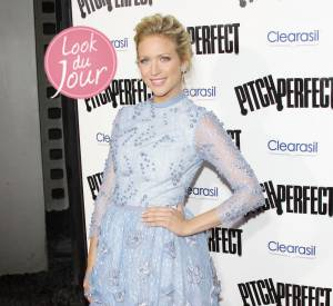 "Brittany Snow à la première de ""Pitch Perfect"" (""The Hit Girls"" en France) à Los Angeles le 24 septembre dernier."